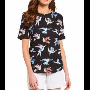 Westbound Hummingbird Black T-Shirt Tee M